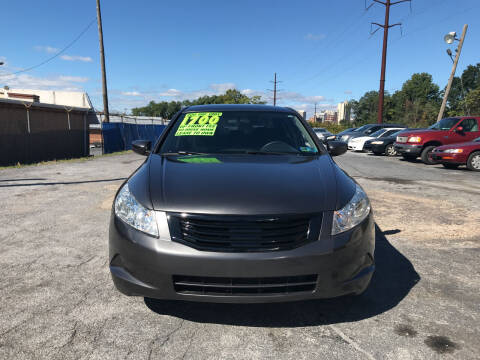 2008 Honda Accord for sale at Credit Connection Auto Sales Inc. HARRISBURG in Harrisburg PA