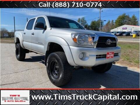 2011 Toyota Tacoma for sale at TTC AUTO OUTLET/TIM'S TRUCK CAPITAL & AUTO SALES INC ANNEX in Epsom NH