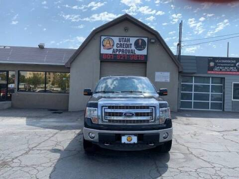 2014 Ford F-150 for sale at Utah Credit Approval Auto Sales in Murray UT