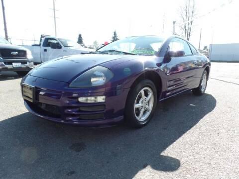 2001 Mitsubishi Eclipse for sale at Gold Key Motors in Centralia WA