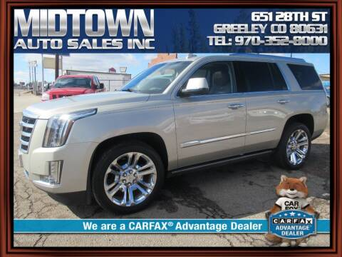 2015 Cadillac Escalade for sale at MIDTOWN AUTO SALES INC in Greeley CO