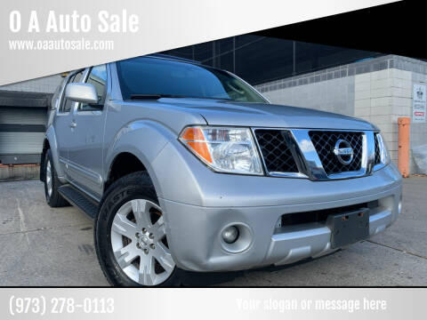 2007 Nissan Pathfinder for sale at O A Auto Sale in Paterson NJ