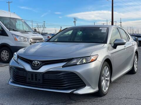 2018 Toyota Camry for sale at SILVER ARROW AUTO SALES CORPORATION in Newark NJ