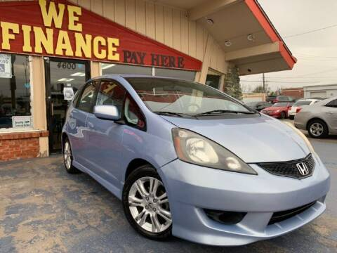 2009 Honda Fit for sale at Caspian Auto Sales in Oklahoma City OK