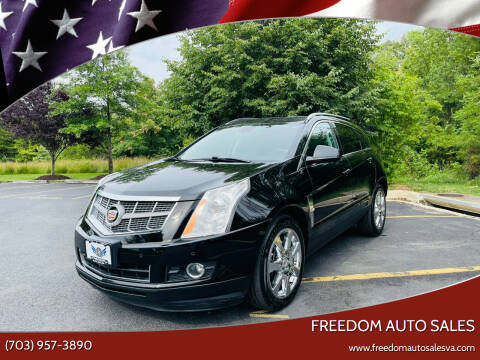 2011 Cadillac SRX for sale at Freedom Auto Sales in Chantilly VA
