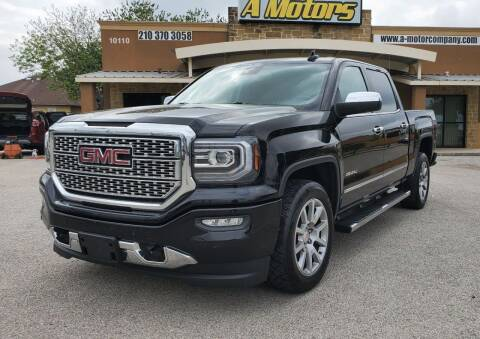 2017 GMC Sierra 1500 for sale at A MOTORS SALES AND FINANCE in San Antonio TX