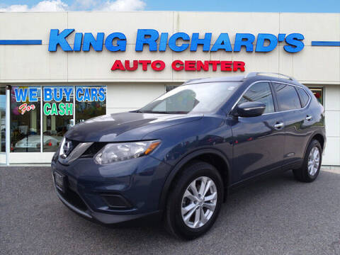 2015 Nissan Rogue for sale at KING RICHARDS AUTO CENTER in East Providence RI