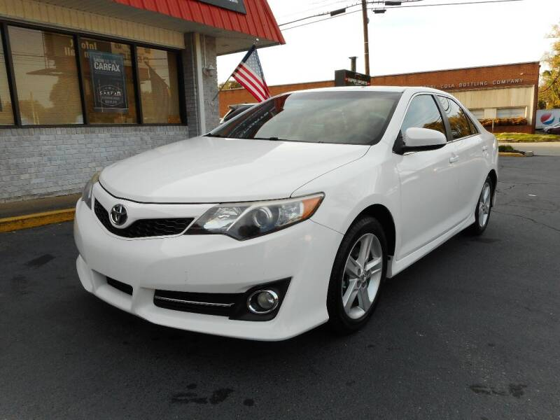 2013 Toyota Camry for sale at Super Sports & Imports in Jonesville NC