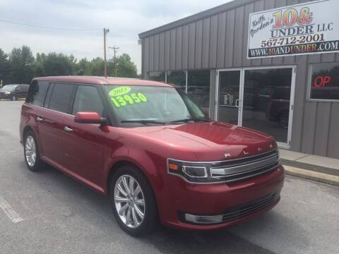 2013 Ford Flex for sale at KEITH JORDAN'S 10 & UNDER in Lima OH