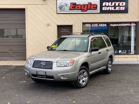 2006 Subaru Forester for sale at Eagle Auto Sales LLC in Holbrook MA