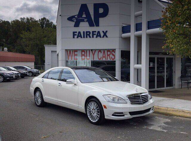 2010 Mercedes-Benz S-Class for sale at AP Fairfax in Fairfax VA