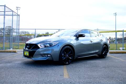 2017 Nissan Maxima for sale at MEGA MOTORS in South Houston TX