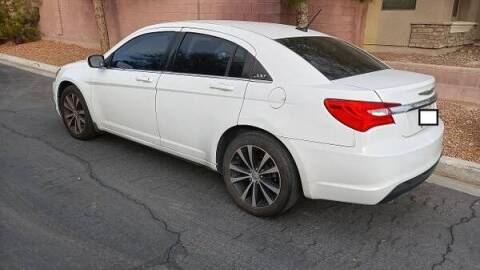 2013 Chrysler 200 for sale at RAFIKI MOTORS in Henderson NV