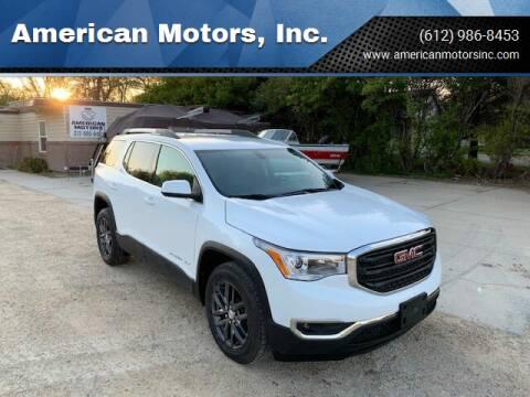 2018 GMC Acadia for sale at American Motors, Inc. in Farmington MN