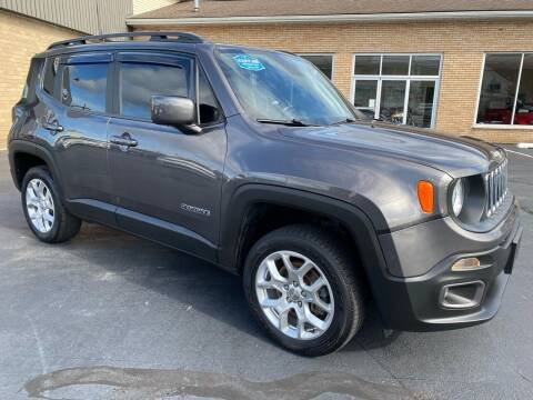 2018 Jeep Renegade for sale at C Pizzano Auto Sales in Wyoming PA