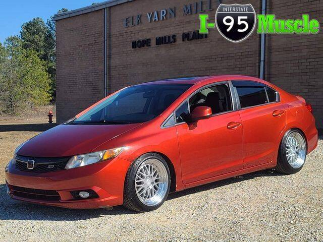2012 Honda Civic for sale at I-95 Muscle in Hope Mills NC