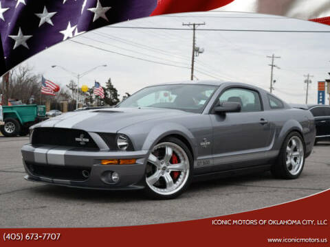 2007 Ford Shelby GT500 for sale at Iconic Motors of Oklahoma City, LLC in Oklahoma City OK