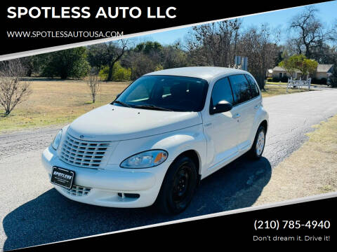 2005 Chrysler PT Cruiser for sale at SPOTLESS AUTO LLC in San Antonio TX