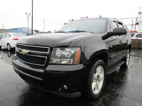 2008 Chevrolet Tahoe for sale at AJA AUTO SALES INC in South Houston TX