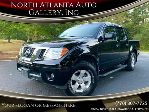 2012 Nissan Frontier for sale at North Atlanta Auto Gallery, Inc in Alpharetta GA
