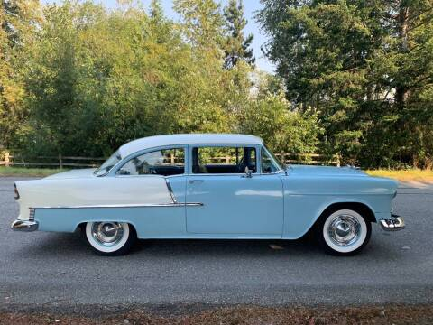 1955 Chevrolet Bel Air for sale at Classic Car Addiction in Marysville WA