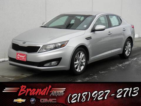 2012 Kia Optima for sale at Brandl GM in Aitkin MN