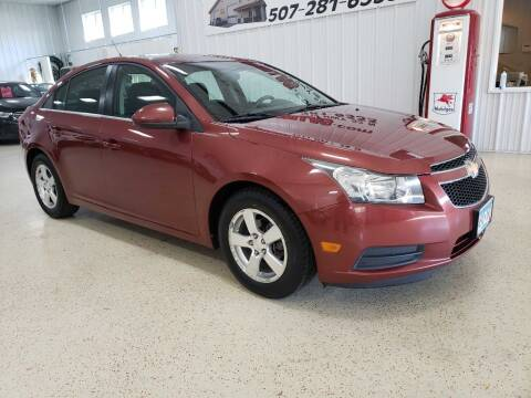 2012 Chevrolet Cruze for sale at Kinsellas Auto Sales in Rochester MN