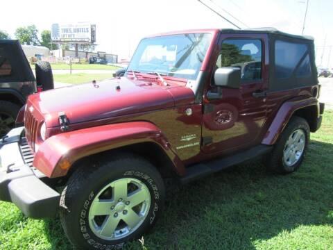 2008 Jeep Wrangler for sale at Dallas Auto Mart in Dallas GA