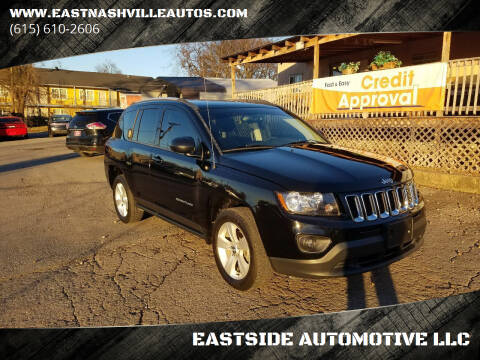 2016 Jeep Compass for sale at EASTSIDE AUTOMOTIVE LLC in Nashville TN
