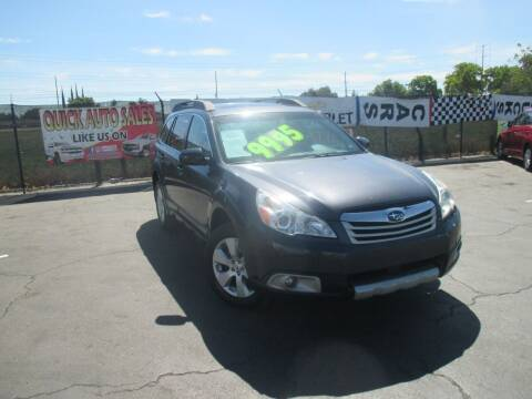 2011 Subaru Outback for sale at Quick Auto Sales in Modesto CA