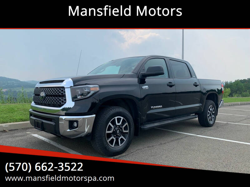 2019 Toyota Tundra for sale at Mansfield Motors in Mansfield PA