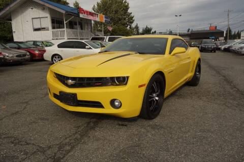 2013 Chevrolet Camaro for sale at Leavitt Auto Sales and Used Car City in Everett WA