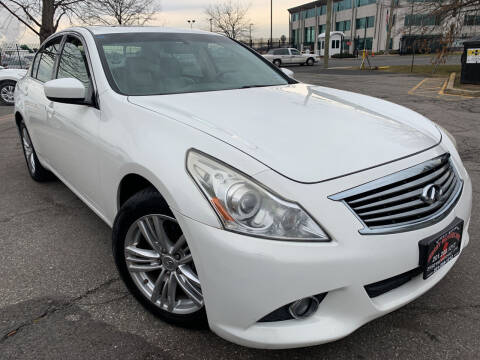 2011 Infiniti G37 Sedan for sale at JerseyMotorsInc.com in Teterboro NJ