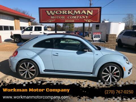 2014 Volkswagen Beetle for sale at Workman Motor Company in Murray KY