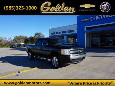 2008 Chevrolet Silverado 1500 for sale at GOLDEN MOTORS in Cut Off LA