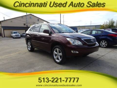 2008 Lexus RX 350 for sale at Cincinnati Used Auto Sales in Cincinnati OH