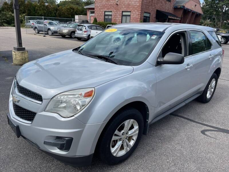 2012 Chevrolet Equinox for sale at KINGSTON AUTO SALES in Wakefield RI