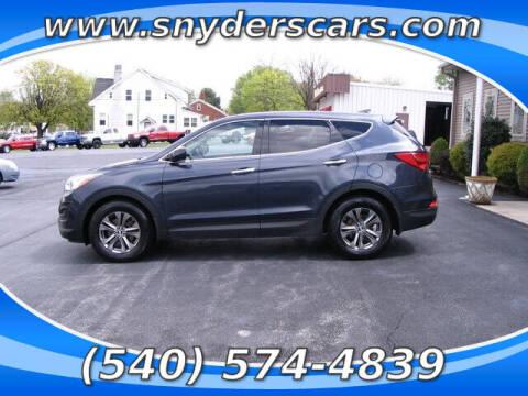 2013 Hyundai Santa Fe Sport for sale at Snyders Auto Sales in Harrisonburg VA