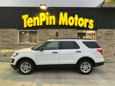 2017 Ford Explorer for sale at TenPin Motors LLC in Fort Atkinson WI