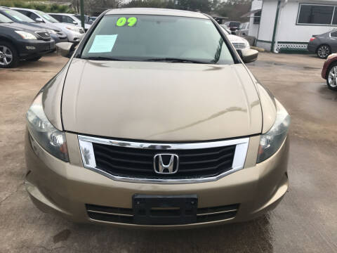 2009 Honda Accord for sale at SOUTHWAY MOTORS in Houston TX
