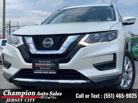 2018 Nissan Rogue for sale at CHAMPION AUTO SALES OF JERSEY CITY in Jersey City NJ