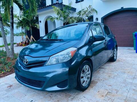 2013 Toyota Yaris for sale at YID Auto Sales in Hollywood FL