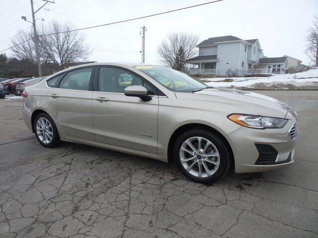 2019 Ford Fusion Hybrid for sale in West Branch, IA