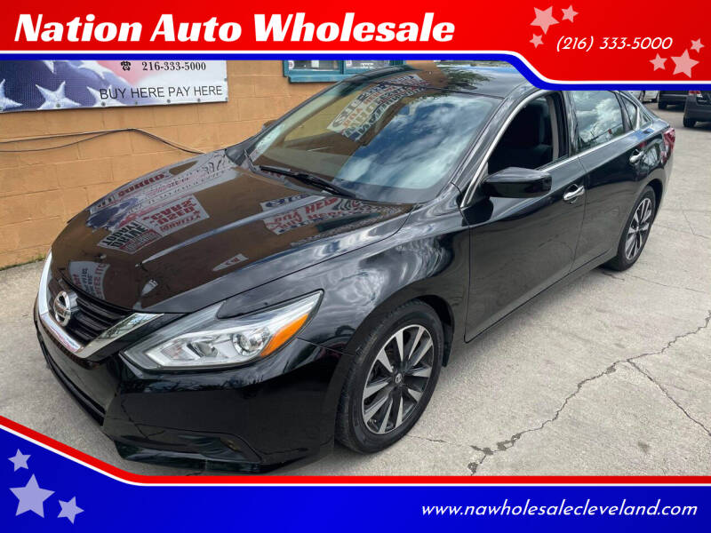 2018 Nissan Altima for sale at Nation Auto Wholesale in Cleveland OH