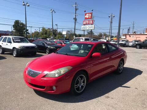 2004 Toyota Camry Solara for sale at 4th Street Auto in Louisville KY