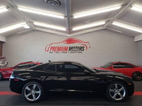 2011 Chevrolet Camaro for sale at Premium Motors in Villa Park IL