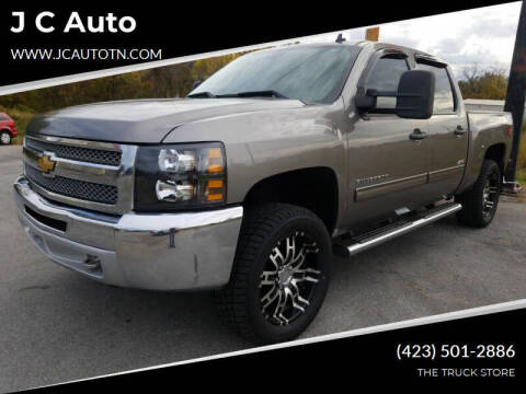 2013 Chevrolet Silverado 1500 for sale at J C Auto in Johnson City TN
