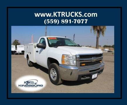2008 Chevrolet Silverado 2500HD for sale at Kingsburg Truck Center - Utility Trucks in Kingsburg CA