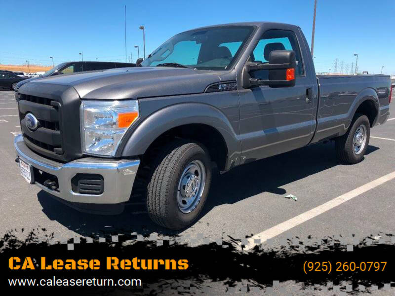 2011 Ford F-250 Super Duty for sale at CA Lease Returns in Livermore CA