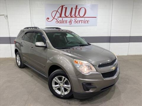 2012 Chevrolet Equinox for sale at Auto Sales & Service Wholesale in Indianapolis IN